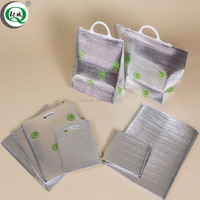 Factory insulated aluminium foil cooler bags wholesale coolerbag