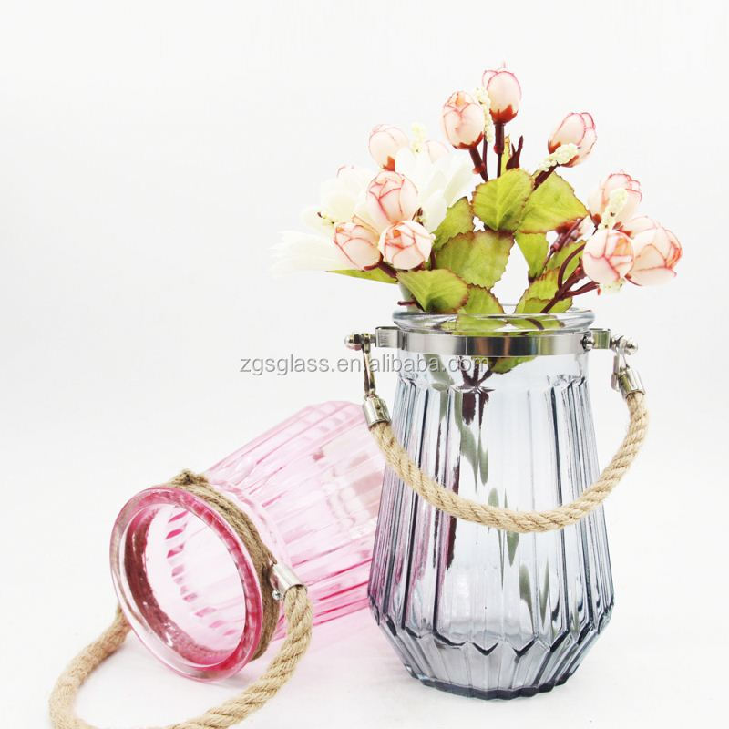Different Size Cheap Price Decoration Home Forcing Glass Vase