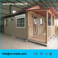luxury design low cost prefab steel container house