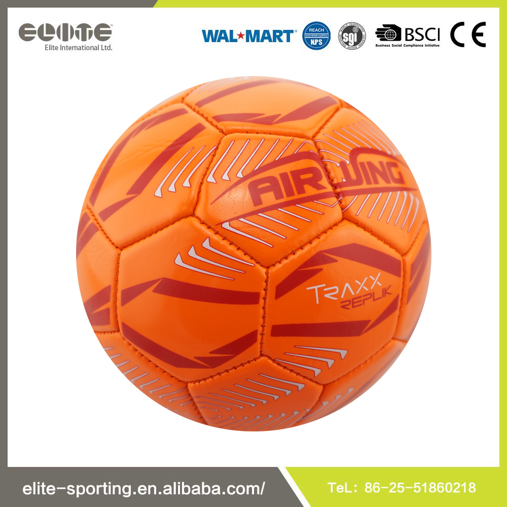 High quality PVC soccer ball exportation from China