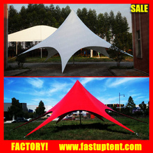 Oxford PVC or 650gsm PVC fabric Stretch camping star tent 6m 10m 16m 20m