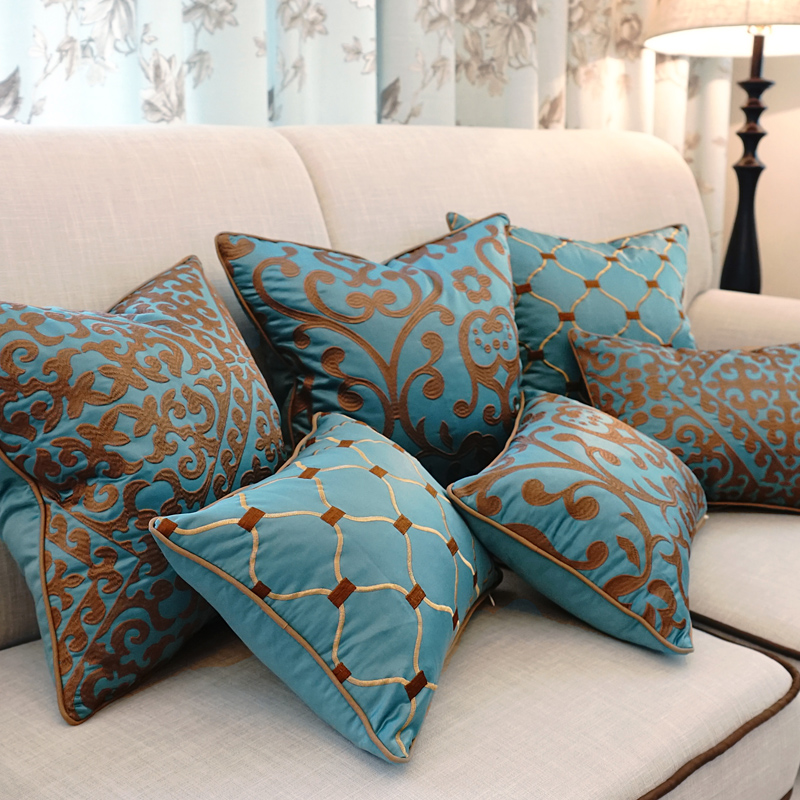 Aliexpress Com Buy European Embroidery Cushions Luxury