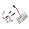 Auto car led light 5730 24SMD led licence plate auto festoon dome led lights BA9S adapters led Festoon