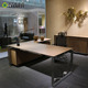 Modern Executive Desk Modular Office Furniture Hidden Furniture L Shape Office Desk With Side Table