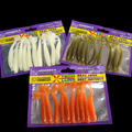 10pcs lot Classic Flexible Soft Lures 75mm 2g Artificial Bait Silicone Lure Fishing Tackle Fishing Lures
