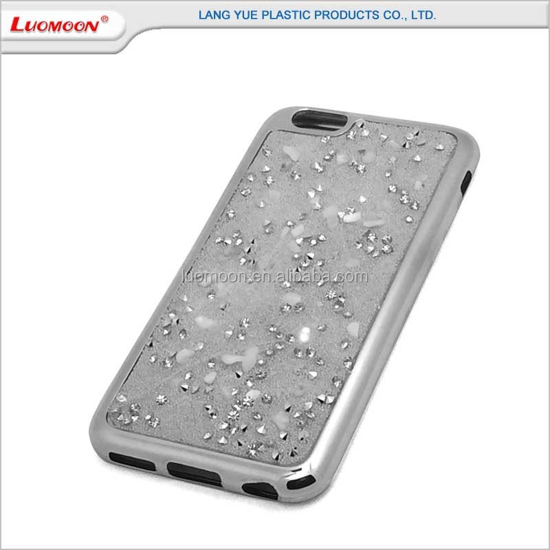 Tpu Electroplating Mobile Phone Diamond Back Case For Gionee P2 S6 ...