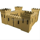 We like it cardboard castle for playing,folding palyhouse, set up by yourself