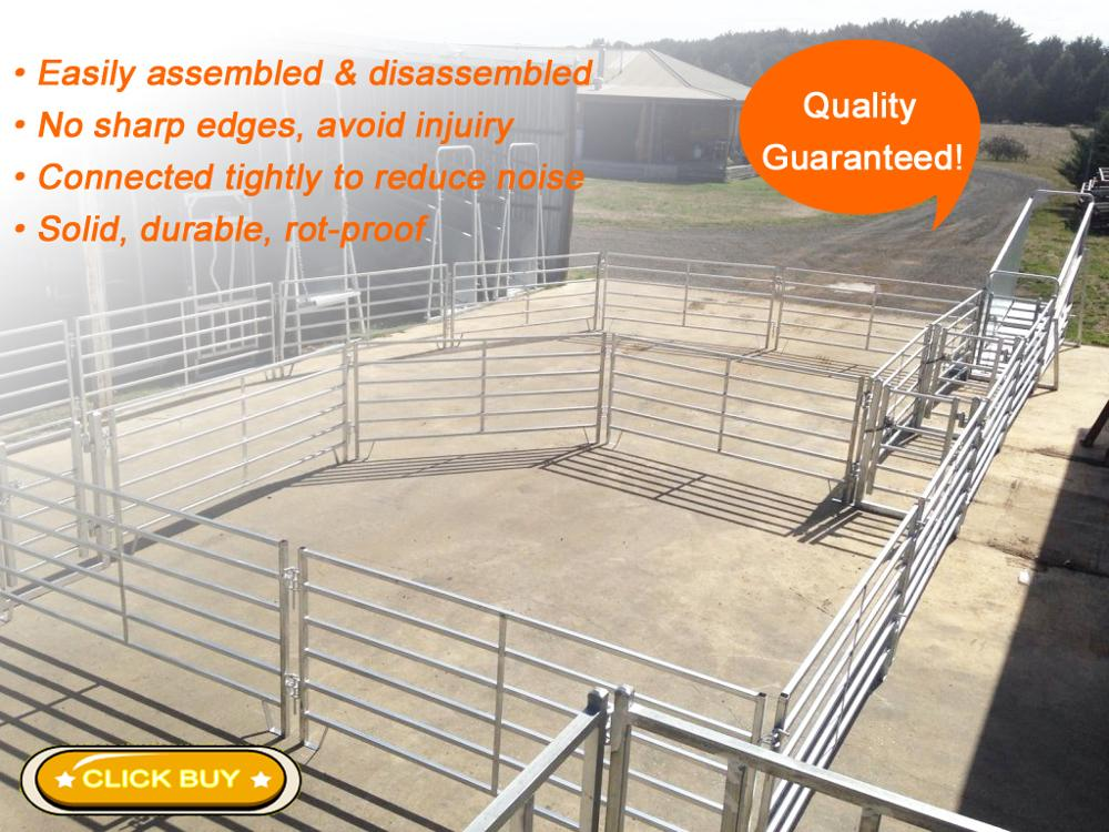 China supplier high quality 2017 new product galvanized cattle sheep panels