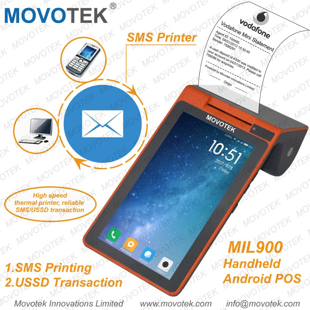 Movotek 3G Android POS Terminal with RQ Code Scanner, NFC Reader