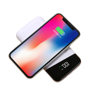 New Design 10000Mah Power Bank Wireless Charger Quick Charge