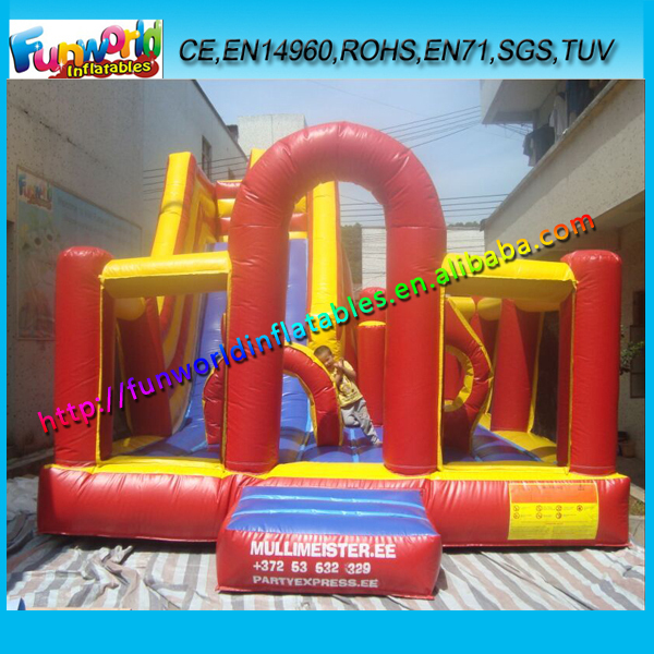 EN14960 Hot Selling High Quality Bounce Combos, Outdoor Inflatable Mini Playground On Sale