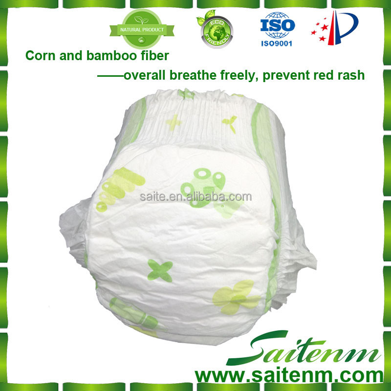 Super soft natural antimicrobial antibacterial baby wizard cloth diaper with high quality