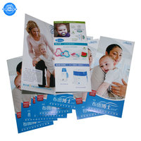 Custom cheap brochure printing, leaflet printing ,air flyer printing service