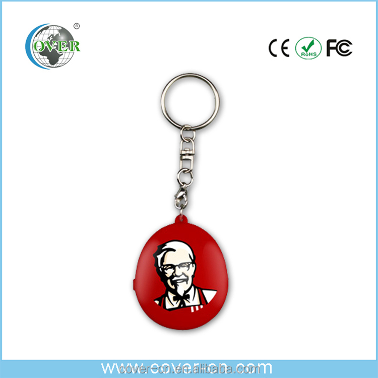 Custom bulk photo keychain with recording sound for gift for toys