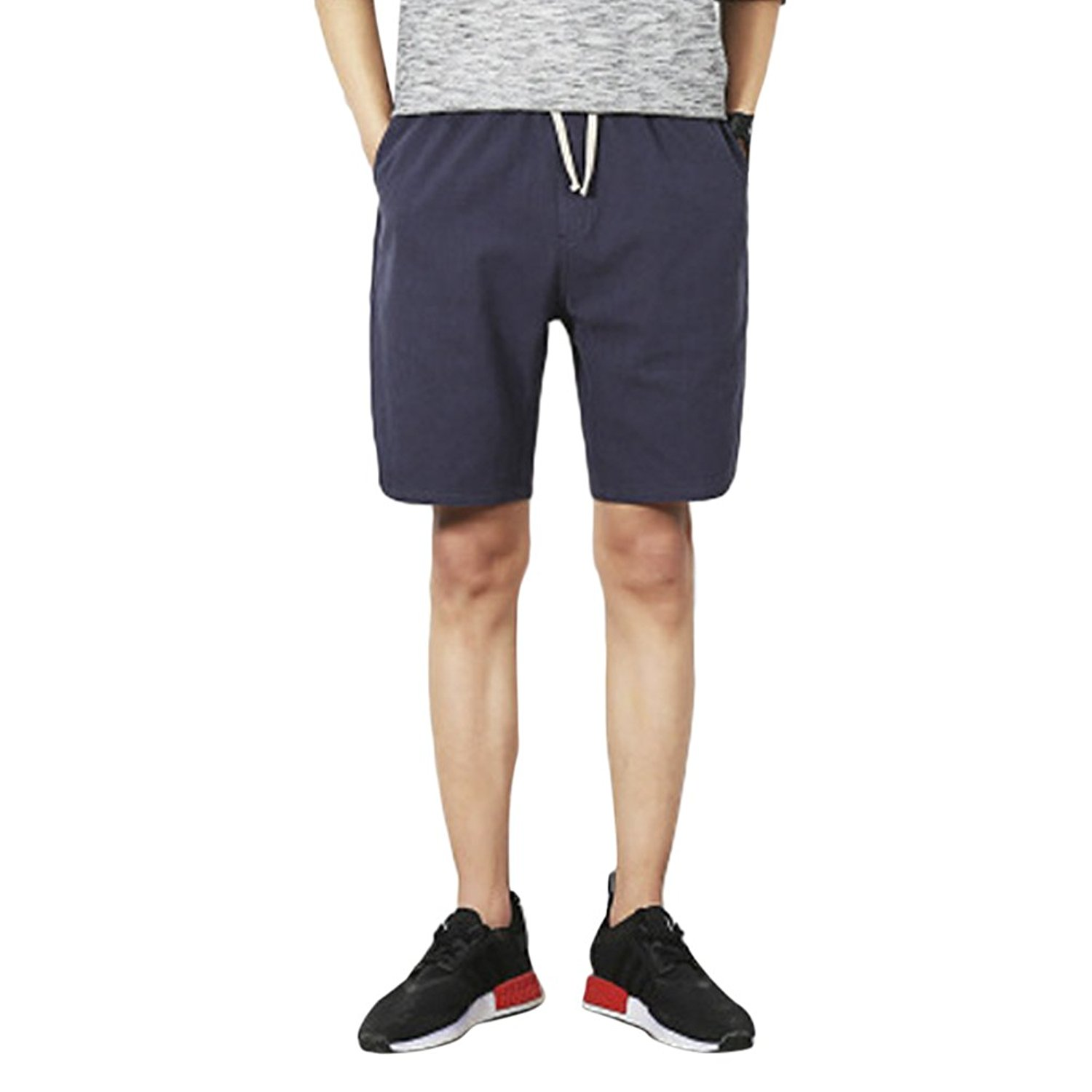 Get Quotations  C2 B7 Zhhlinyuan Beach Linen Casual Shorts For Mens Teens Boys Pocket Cargo Shorts