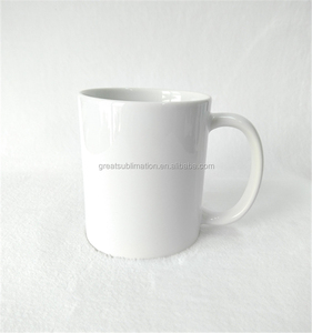 custom cheap coffee mugs sublimation printing 11oz white blank ceramic mug