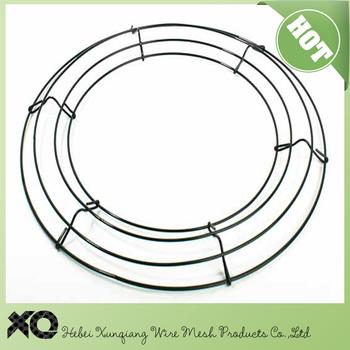 12 30cm metal wreath frame wholesalewire wreath forms - Wreath Frame