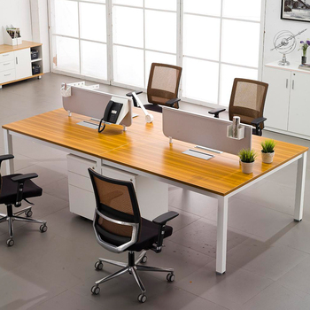 4 people table Commercial Workstation desk modern office furniture