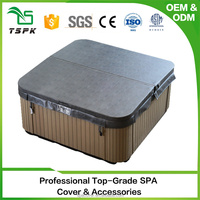 Good material anti-mildew fabric custom in ground spa covers