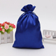 Hot selling soft drawstring satin dust bag for handbag