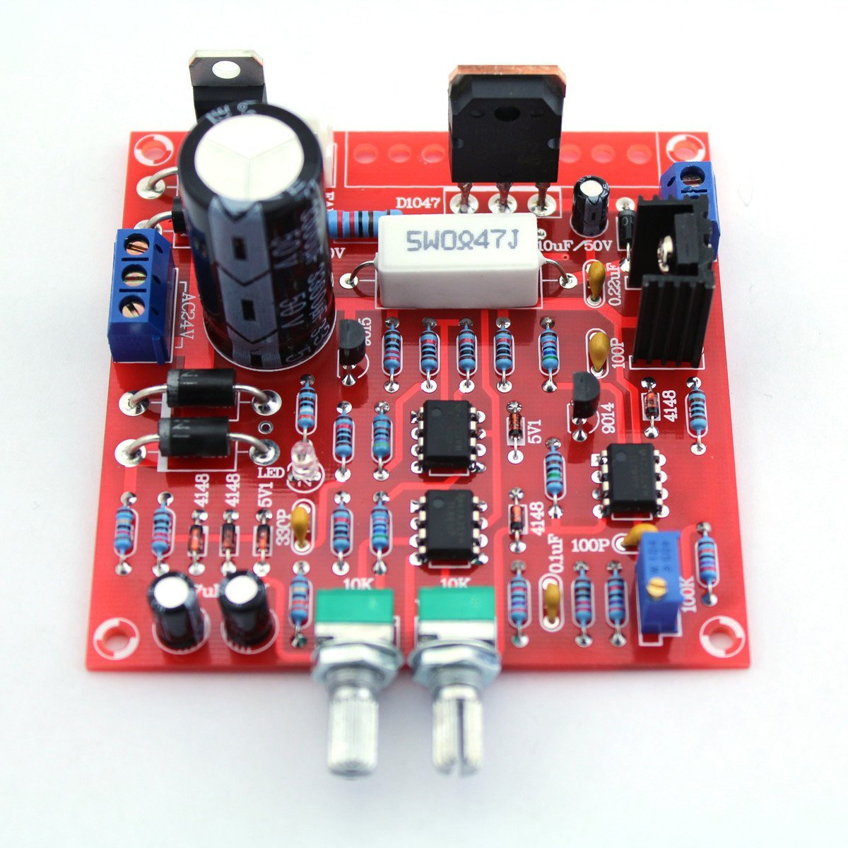 dipshop 0-30V 2mA - 3A Adjustable DC Regulated Power Supply DIY Kit Short Circuit Curren