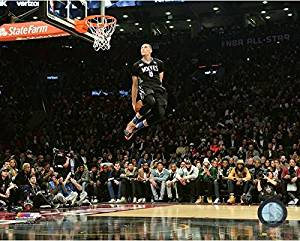 826b293cf Get Quotations · Zach Lavine Minnesota Timberwolves NBA Slam Dunk Contest  Photo (Size  11