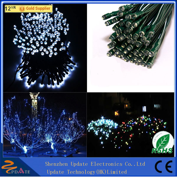 Super Bright Decoration Garden Christmas Wedding Fairy Party Outdoor Solar String Light Fairy Light Curtain