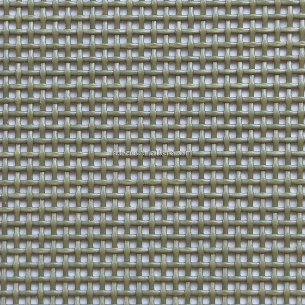 1*1 Weave Grey Breeze Truck Vinyl Woven PVC Coated polyeter mesh fabric