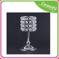 AD122 Crystal Candlesticks for wedding / acrylic candelabra votive wine bottle tealight candle holder