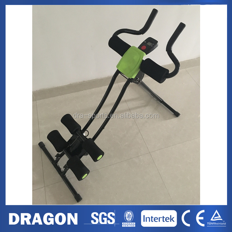Foldable Abdominal & Cardio Trainer S Shape Abdominal Trainer ABT-2 with training computer