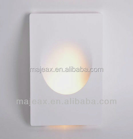 Led Lights Recessed Wall Plaster Cast Light Wall Sconce