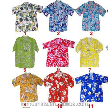 Männer Kurzarm Hawaii-hemden - Buy Hawaiian Shirts Für Mann,Kurzarm ...