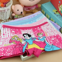 4 Pcs Children's Clothing Frozen Kids Girls Boxer Underwear Panties Baby Briefs Cuecas Calcinha Infantil Calcinhas Infantis