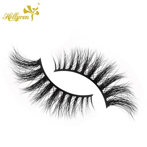 Charming Invisible Band 3D Mink Strip Eyelashes