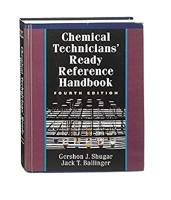 Chemical Technician's Ready Reference Handbook, Fifth Edition