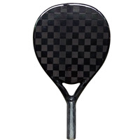 Custom high quality 3k 12K 18K graphite and carbon beach paddle tennis racket OEM China manufacturer 4021