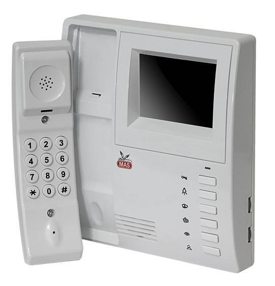 MAJESTIK COLOR VIDEO DOOR PHONE WITH INTERCOM