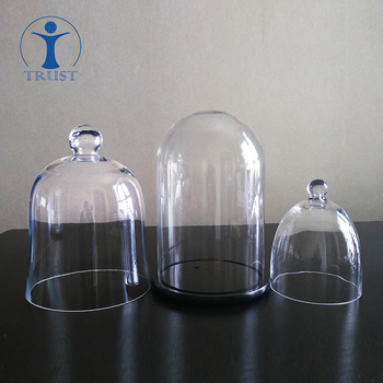 Wholesale Factoryhand Made High Quality Tall 35cm Clear Bell Jar