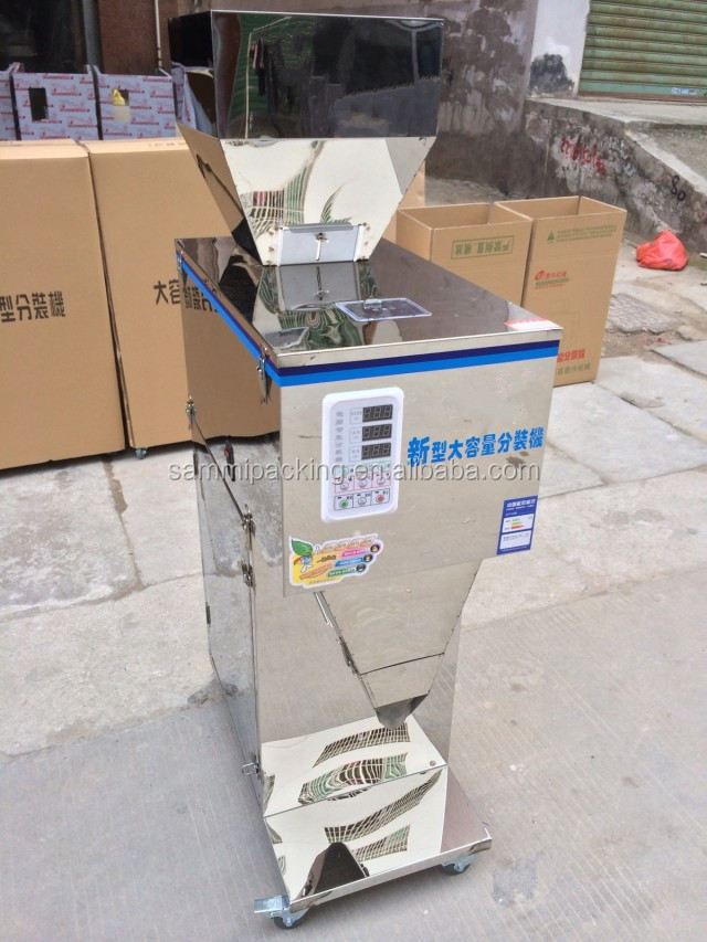 25-1500g semi automatic maca powder filling machine (9)