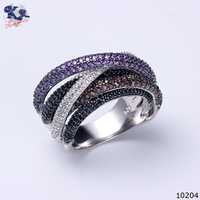 Silver jewelry cz 925 sterling silver ring 325