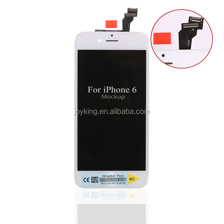 [joyking] Popular original touch screen digitizer glass panel for iphone 6 lcd assembly