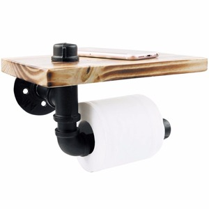 Piping Hot Art Works Industrial Toilet Paper Holder For Bathroom