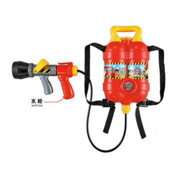 Top sale outdoor kids backpack summer toy fire water gun