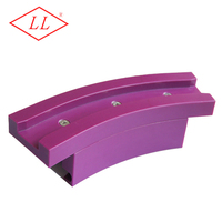 UHMWPE Magnetic corner track for 1060 chain