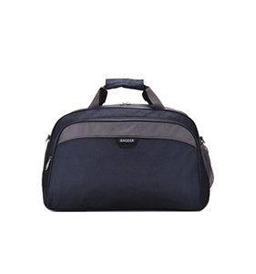 Black Custom Tactical Mens Leather Gym Travel Duffle Bags