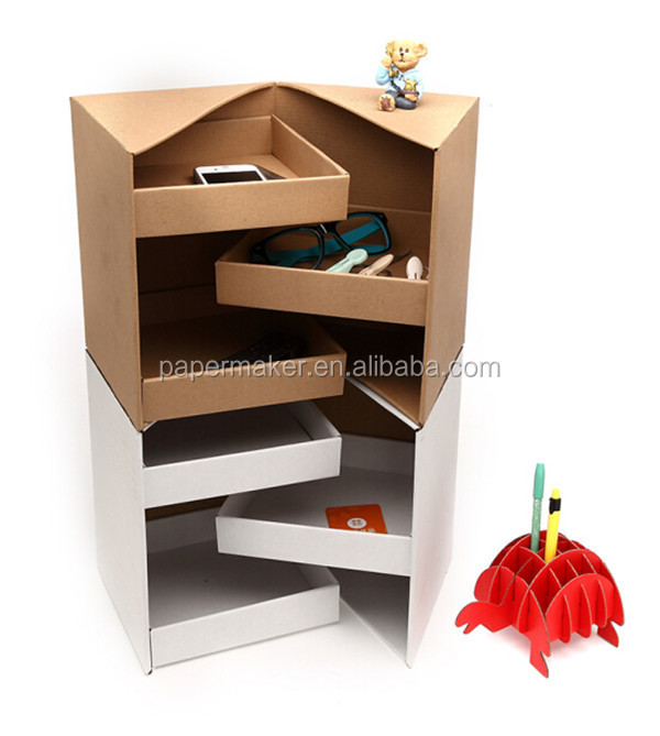 2015 OEM paper office desktop organizer paper DIY collection