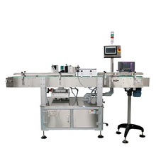 Automatische potten fles wrap rond labeling machine <span class=keywords><strong>label</strong></span> <span class=keywords><strong>applicator</strong></span>