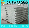 square common type painted gypsum plafond sheet