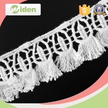 100 Katoen Alibaba <span class=keywords><strong>Kant</strong></span> Materialen 2.8 cm Chemische Fringe Lace