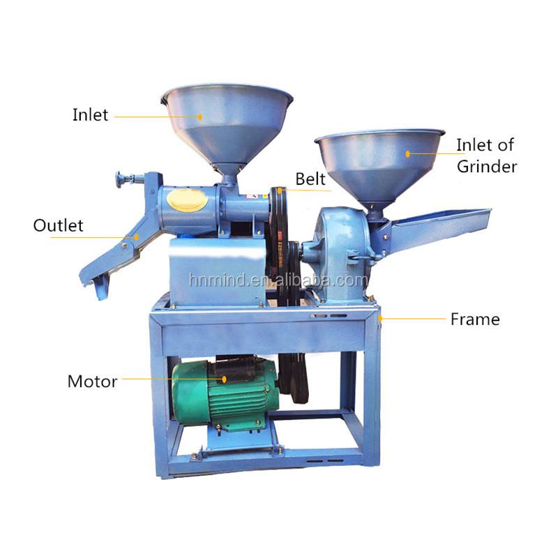 Best Selling Quinoa Basmati Rice Mill Machine Grain Corn Crusher Machine
